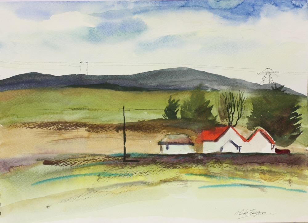 'Farm Cottage from Glenamuck Rd'