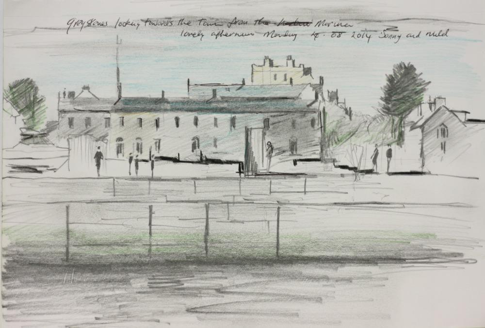 'Greystones Town from Marina'
